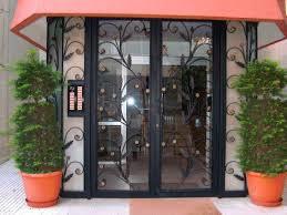 Avrupa Yakası Ferforje Bina Kapıısı Modelleri
